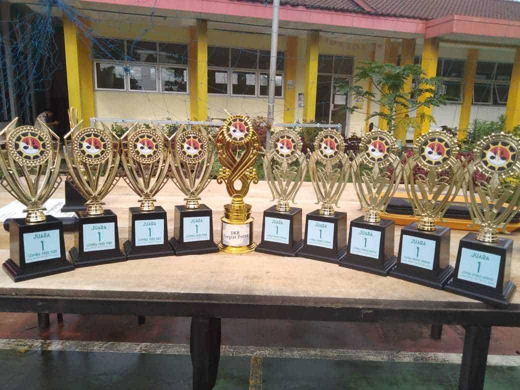 Juara 1 dan Pramuka Tergiat di Acara MUSPANITERA Kwaran Ciawi 2020